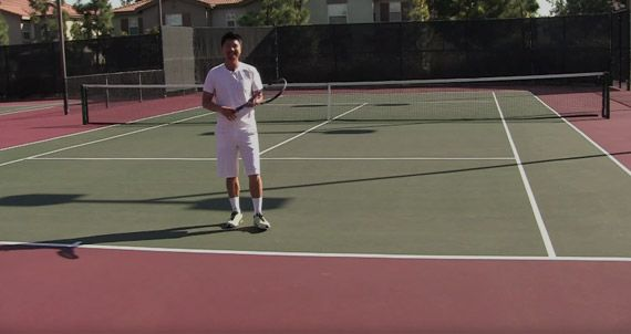 Learn to string tennis racquets